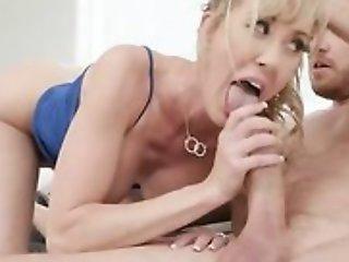 Shameless MILF seduces plus fucks her daughter's hubby