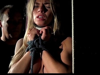 Torturing a whining slave
