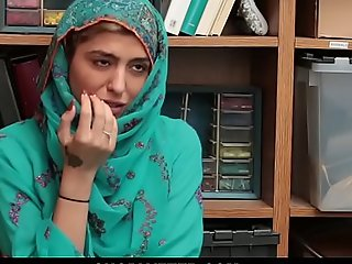 Shoplyfter- sexy muslim legal age teenager bottom side up someone's external works & harassed