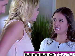 Momsteachsex - showing my legal age teenager daughter how to ...
