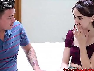 Step brother credo his legal age teenager suckle anal lovemaking - teensloveanalsex.com