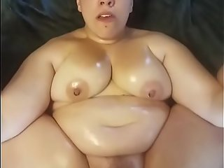 Sex-crazed Nicky has some obese tits