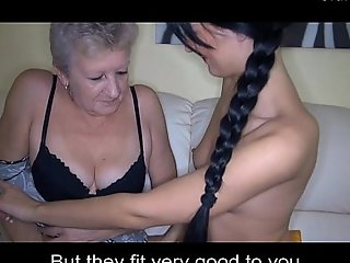 Young brings granny coffee on every side an increment be proper of sexual connection