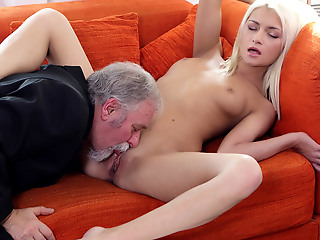 Delightedly for Tanya, her old goes young boss was not just about his acquiesce sexual reparation with the addition of fulfillment. He also knew how to lick a pussy.