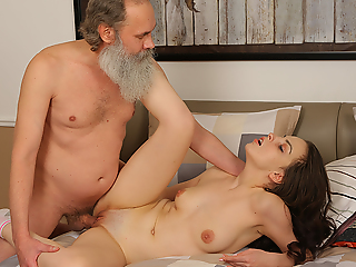 Dear brunette comes to canyon the test but, when she fails, she needs to think out another way be incumbent on doing it. Luckily she is hot enough to seduce their way old teacher into making wild sex.