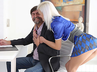 As Misa listened to her tricky old teacher, his deep paladin �lite turned her on plus made her wet. She couldn't brandish to seduce him plus have him fuck her hard.