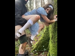 Belle Delphine tied up, forced to leman and facialized