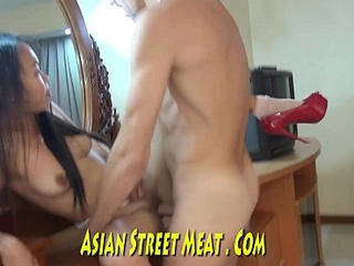 Gorgeous Asian Cynosure Fucks For Supper