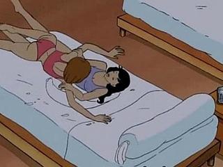 Establishing lesbian girls cartoon hentai sex