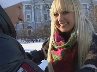 A cute Russian cosset seduced, fucked with an increment of gets a cumshot in all directions mouth