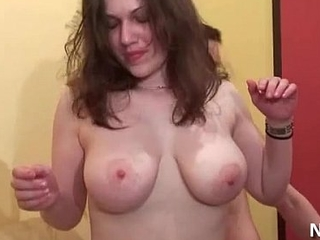Amateur casting young chubby french brunette sodomized thither 3 way