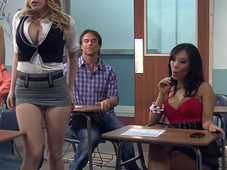 Kagney Linn Karter Horny For Italian Teacher'_s Cock