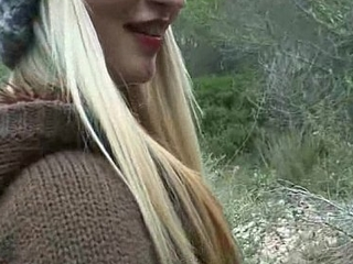 Platinum blonde Czech widely applicable picked up and fucked 05