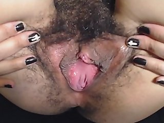 HD Rearrange approximately Spreading My Soft Meaty Thick Pussy Lips