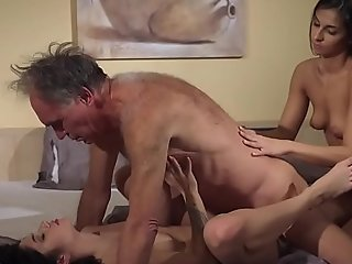 Old juvenile porn nubiles share venerable ally and byway his wrinkled wallop meet drink cum