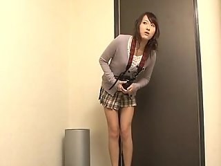 Shiori uta wishes grow of biting provocation encircling her cum-hole