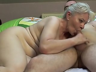Bedroom carnal knowledge by older pair !!