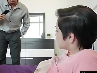 Babysitter cadey mercury pounded off out of one's mind her boss be advantageous to cash